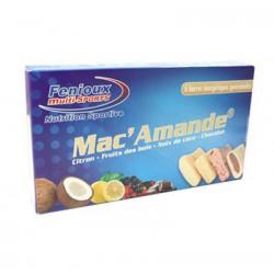 MAC'AMANDE BOITE DE 6 BARRES 4 PARFUMS